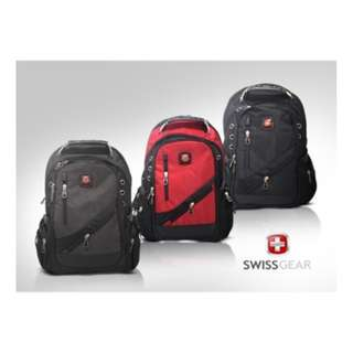 """SWISSGEAR Travel and Urban Backpack Fit Most 13"""" to 15˝ - Grey"""