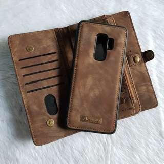 s9 Plus Leather Case Wallet