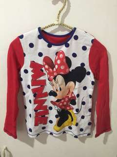 Mothercare minnie long sleeves