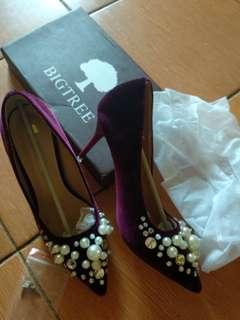 Heels fashion import 9cm