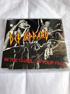Def Leppard Cd Single