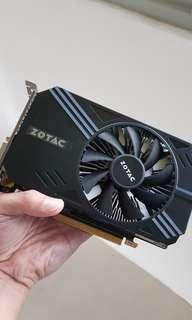 Zotac 3GB GPU GTX1060