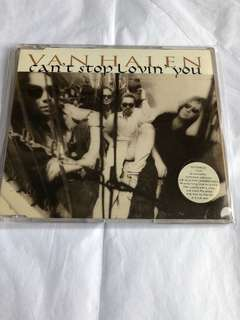 Van Halen Cd Single - Can't Stop Loving You