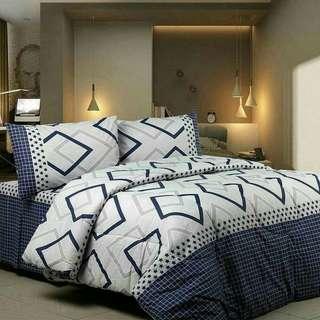 SEPRAY dan bed cover baru