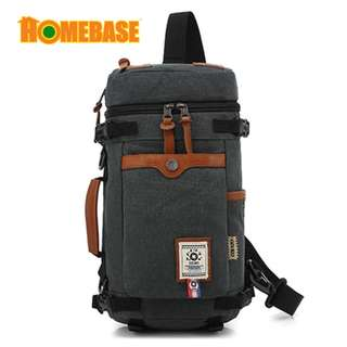 HOMEbase Original Authentic Ozuko Design Backpack Grey (bag8673)