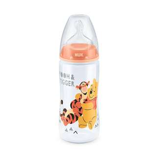 NUK Premium Choice Disney Polypropylene Bottle 300ml, Winnie The Pooh, Pack of 1