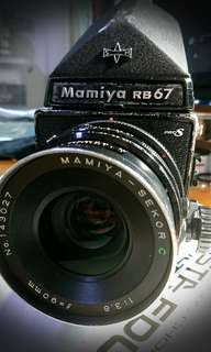 🚚 Mamiya RB67 Pro S with 6x7 back