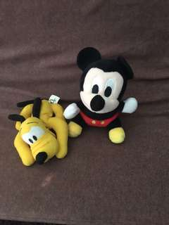 Bundle Mickey Pluto