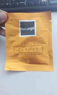 Masker Wajah Naturgo Shiseido
