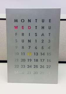 📆Magnetic table calendar 📆