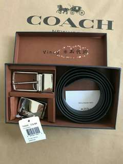 New Authentic Coach Belt