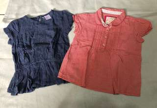 Red Tag bundle of 2 tops