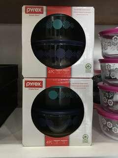 PYREX Simply Store 4pcs