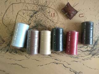 Wax thread *Especially for leather hand-stitch