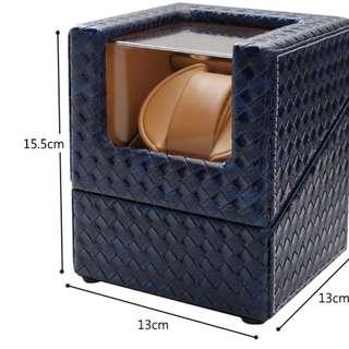 #機械錶 自動上鍊機收藏盒【編織系列】#免運