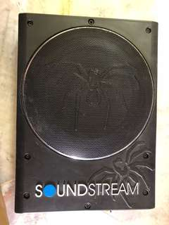 soundstream underseat woofer