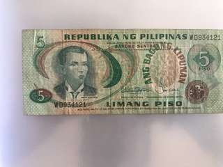 Old Note - Phillipines Old Note