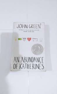 Abundance of Katherines, by John Green