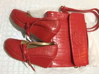 PL Shoes with Bag