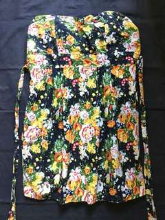 Mint Floral Tube Dress