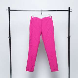 SHOCKING PINK PANTS