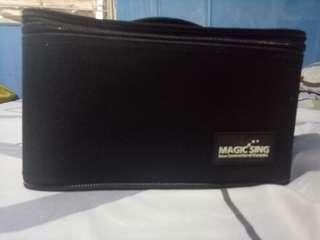 WOW MAGIC SING EG18000 Dual Wireless Microphone(Slightly used)