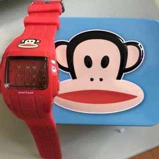 PAUL FRANK digital watch 5ATM New