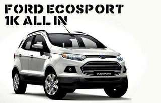 1K all in downpayment for Ford Ecosport, Ranger and Everest