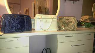 3 Purses for $25