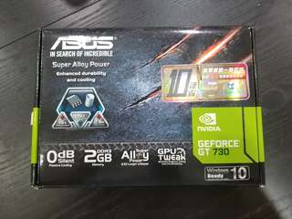 Asus Geforce GT730 2GB ddr3 displaycard 顯示卡