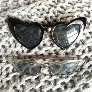 Sunnies / shades / sun glasses