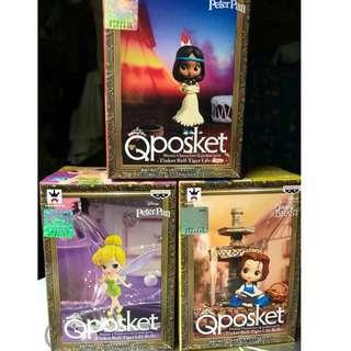 Q posket Qposket Petit Vol 7 奇妙仙子 Tinker Bell Disney 迪士尼公主系列