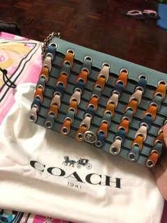 Coach Dinky-Blue strap ORIGINAL