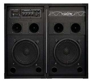 Highlanders 100W party speakers with bluetooth
