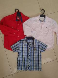 Polo bundle for 3-4 yrs old