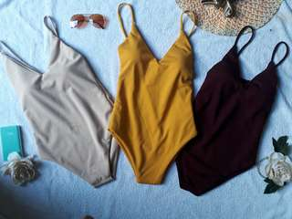 Body Suit Plains Padded