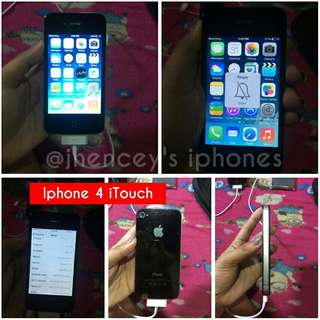 Iphone 4 itouch