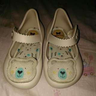 Zaxy Nina Beige Bear Shoes