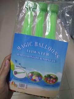 Water Balloons 111pcs (easy use bundle)