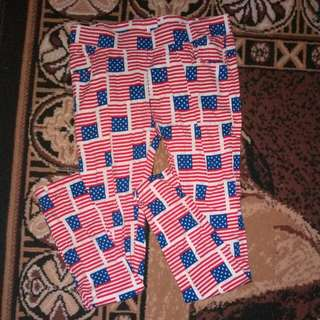 Pants flag