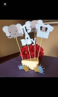 Its a boy / girl cake topper / photo prop