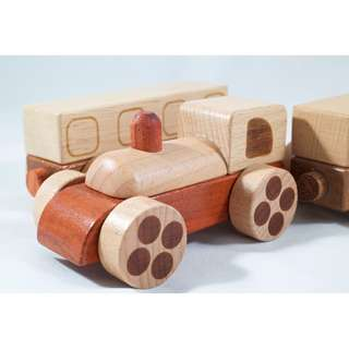 Red Wood Series - Mini Train