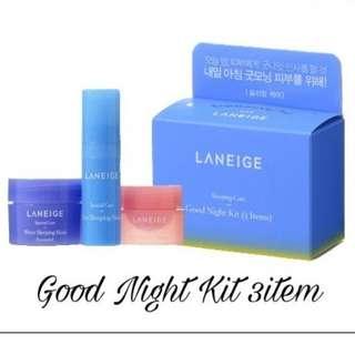 PROMO Laneige Good Night Kit