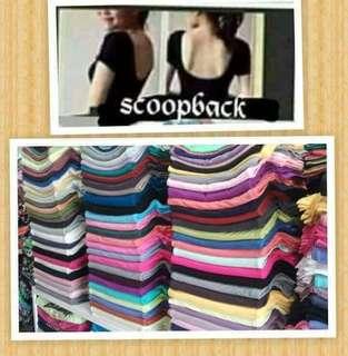 Scoop Back Tops