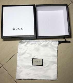 Gucci Box + Dust Bag