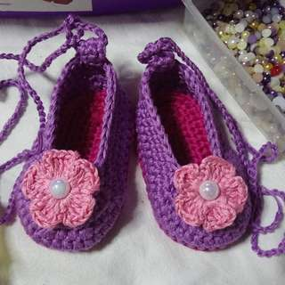 Crochet shoes