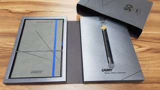 LAMY 50th Anniversary Pen & Notebook