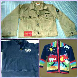 3pcs Boys Jacket (PRELOVED)