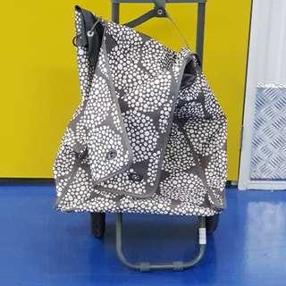 Used Market Trolley Bag