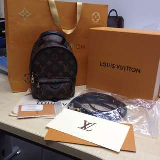 brand new lv mini back pack 100% authentic